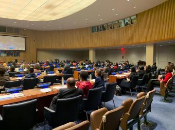 التحالف الدولي:  يشارك بالمؤتمر الحكومي الدولي المعني بقانون البحار بالأمم المتحدة بنيويورك ويطالب بموقف تجاة الأنتهاكات التركية بقبرص
