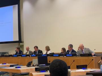 التحالف الدولي :يشارك بجلسة تنفيذ أهداف التنمية المستدامة بمقر الأمم المتحدة بنيويورك
