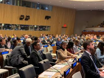 التحالف الدولي: يشارك بمنتدى الأمم المتحدة بنيويورك المعني بقضايا الشعوب الأصلية