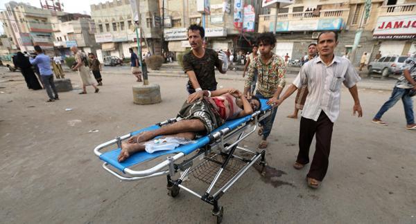 التحالف الدولي :يصف قصف مستشفى وسوق بالحديدة باليمن بالمجزرة الوحشية المروعة