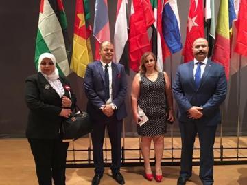 التحالف الدولي يشارك بمؤتمر الشبيبة الدولي للسلام في بيروت