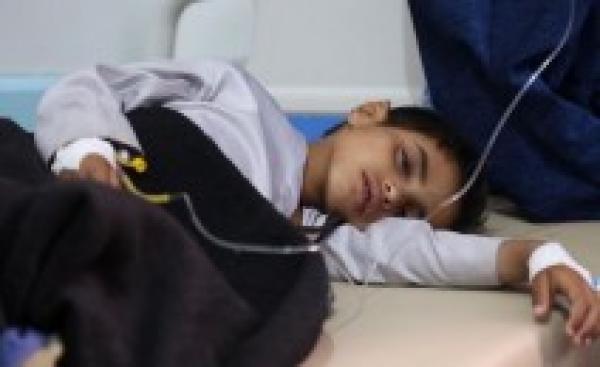 في اليمن : وباء الكوليرا يصيب طفل واحد كل دقيقة والمنظومة الصحية منهارة