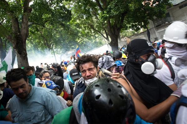 التحالف الدولي ومفوضية حقوق الإنسان يبديان قلقهما إزاء خطر تصاعد العنف في فنزويلا