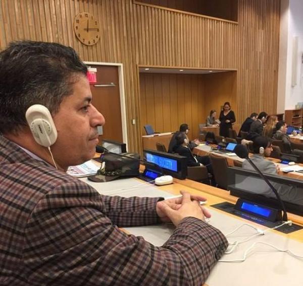 التحالف الدولي يشارك بجلسات الامم المتحدة المنعقدة بنيويورك