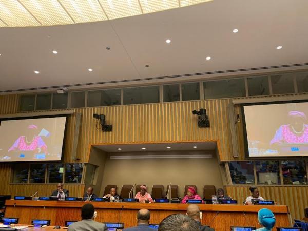 التحالف الدولي : يشارك بالحوار حول أفريقيا بالأمم المتحدة بنيويورك