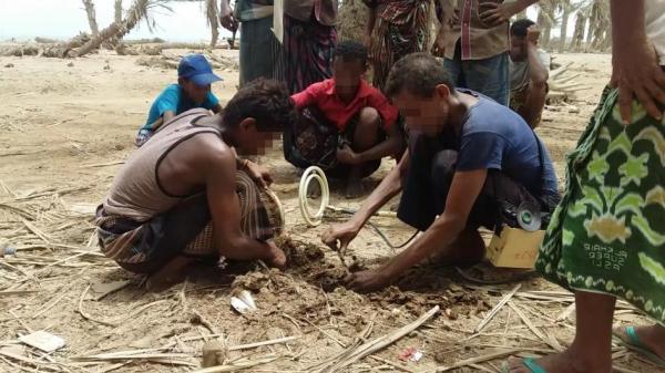 """التحالف الدولي """"عدل""""بفرنسا: يدين استخدام الحوثيين للألغام ويعتبرها جريمة حرب"""