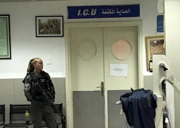 القوات الإسرائيلية تداهم أحد المستشفيات وتقتحمه بالعنف في استعراض همجي للقوة