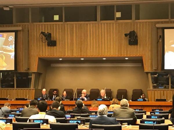 التحالف الدولي يشارك بأجتماعات الجلسة العامة بالأمم المتحدة بنيويورك