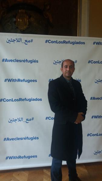 رئيس التحالف يتضامن مع اللاجئين باليوم العالمي