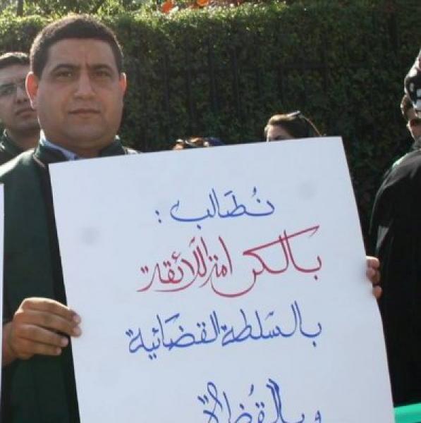 """باليوم العالمي للعدالة:التحالف الدولي يختار القاضي """"الهيني""""شخصية العام ويقر تكريمه"""
