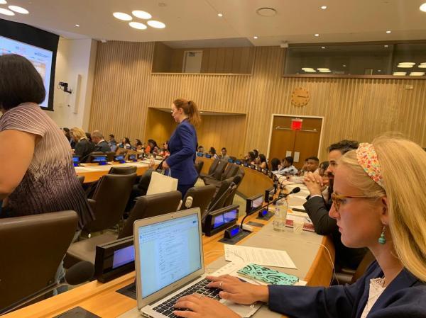 التحالف الدولي: يشارك باليوم العالمي للشباب بمقر الأمم المتحدة بنيويورك