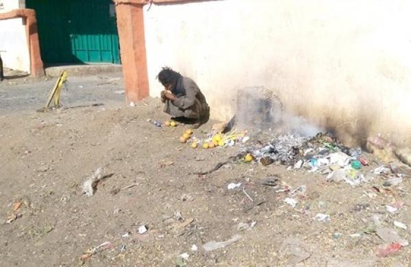 أطفال اليمن يكافحون الجوع بالتسول