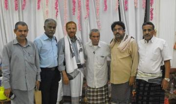 المعتقل المرقشي يشكر منظمة التحالف الدولي AIDL