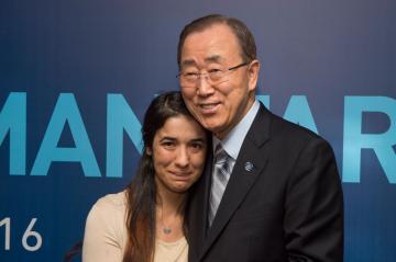 ضحية الاتجار بالبشر نادية مراد سفيرة للنوايا الحسنة