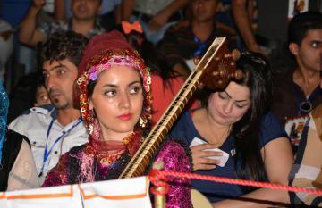 التحالف الدولي :يشارك بمهرجان التعايش السلمي بين الثقافات المتنوعة بكردستان العراق