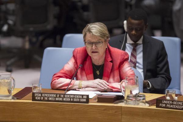 رئيسة بعثة الأمم المتحدة بجنوب السودان تحذر من مخاطر اندلاع حرب أهلية