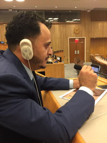 """التحالف الدولي""""عدل""""يشارك أعمال جلسات الامم المتحدة 2017 بنيويورك"""