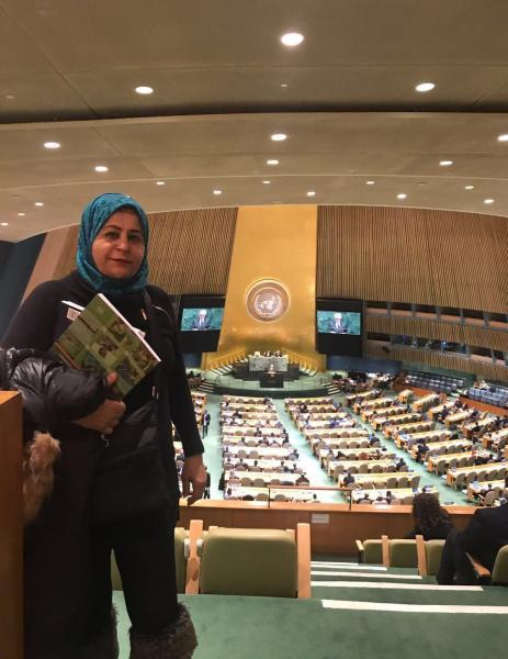 """التحالف الدولي""""عدل""""يشارك فعالية يوم التضامن مع الشعب الفلسطيني بمنبى الأمم المتحدة بنيويورك"""