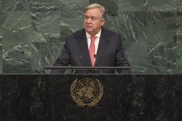 الأمين العام للامم المتحدة يستعرض أمام الجمعية العامة بنيويورك 7تهديدات تواجه عالم اليوم
