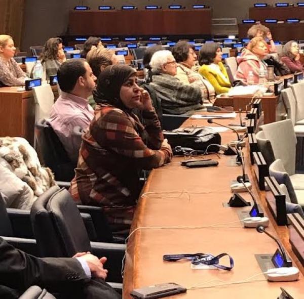 التحالف الدولي : يشارك بالدورة الخامسة والستون للجنة التنمية الأممية بنيويورك