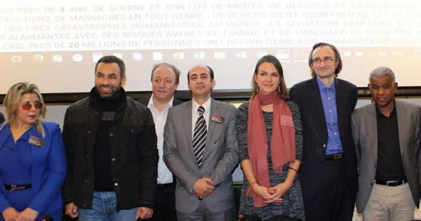 التوصيات العامة لمؤتمر باريس الدولي الثاني لمناقشة الكارثة الإنسانية وانتهاكات حقوق الأنسان وجهودوقف الحرب واحلال السلام لليمن
