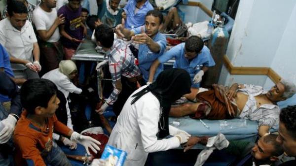أدانات دولية للهجمات الصاروخية التي تعرض لها المدنيين بتعز