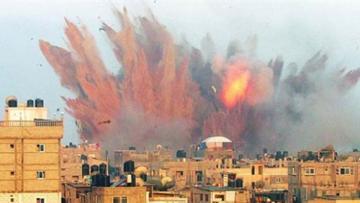 التحالف الدولي:يدعو لإيقاف فوري لقصف المدن المؤهلة بالسكان ويعتبرها جريمة
