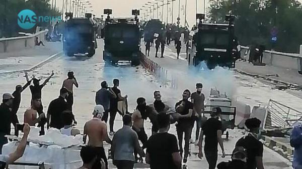التحالف الدولي :يطالب الحكومة العراقية بمحاسبة المتورطين بأرتكاب أنتهاكات مروعة بحق المتظاهرين