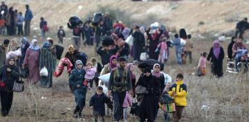 النازحين ضحايا الحروب والنزاعات