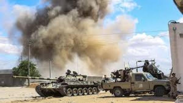 التحالف الدولي : يعبر عن قلقة البالغ للأوضاع في ليبيا ويدعوا لأحلال السلام ويحذر من أي انتهاكات بحق المدنيين