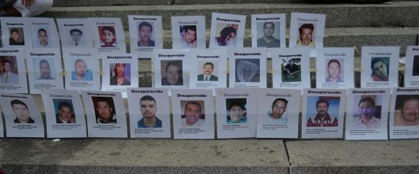 اليوم الدولي لضحايا الاختفاء القسري  30 آب/أغسطس