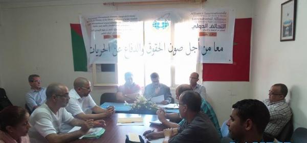 الزهاري الامين العام للتحالف الدولي بالمغرب: لا للأنتقائية في المتابعات القضائية