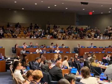 التحالف الدولي : يشارك بالمؤتمر الرفيع المستوى بمقرالأمم المتحدة بنيويورك