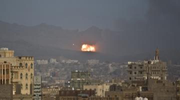 Saudi-led Airstrikes Kill Hundreds in Yemen