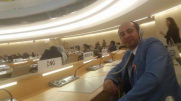 Chef de la coalition impliquée les travaux de la 33e session du Conseil des droits de Bjeenf