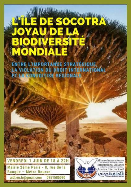 L'ÎLE DE SOCOTRA  ENTRE IMPORTANCE STRATÉGIQUE, VIOLATION DU DROIT INTERNATIONAL