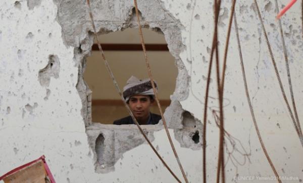 UNICEF: Plus de deux millions d'enfants sont hors de sièges scolaires au Yémen depuis le début du conflit