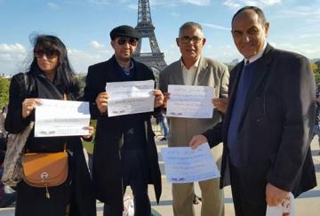 """L'annonce était un «travail international total pour la paix"""" à Paris et au large du Yémen une guerre de priorité"""