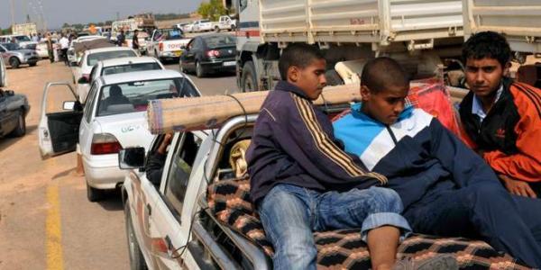 CONFLIT ARME EN LIBYE : SITUATION HUMANITAIRE DE PLUS EN PLUS INQUIETANTE . AIDL INTERPELLE L'ONU